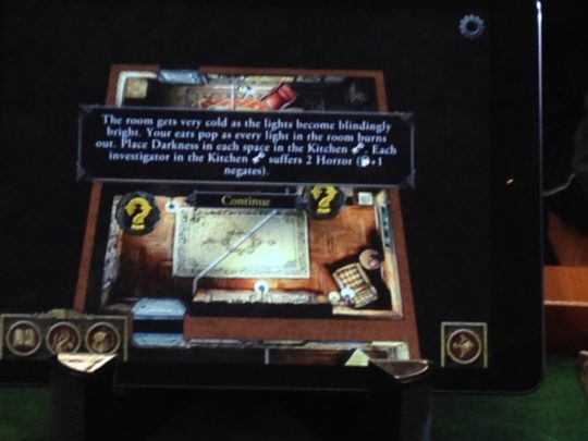 Mansions of Madness Second Edition App Action