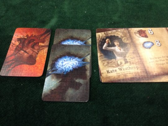 Mansions of Madness Second Edition Damage Cards