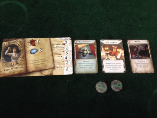 Mansions of Madness Second Edition Player Bits