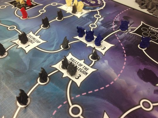Tyrants of the Underdark Board Close Up